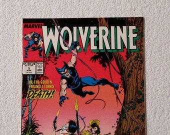 NM!  Wolverine #5 (1988)