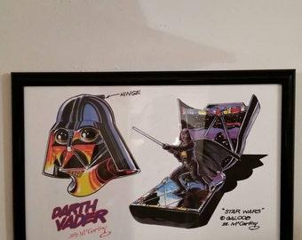 Star Wars Signed Original Art (1996)