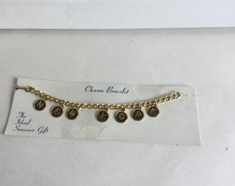 Vintage New York Charm Bracelet