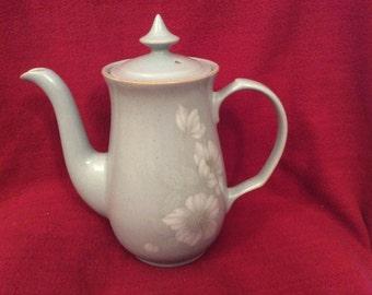 Denby Blue Dawn Fine Stoneware Coffee Pot
