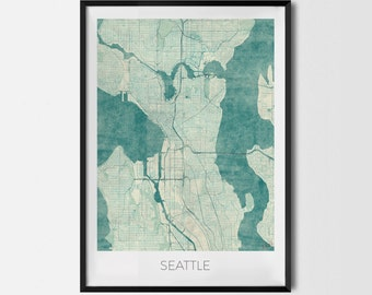 """Poster """"Seattle"""""""
