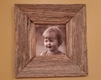 3 In Wide, 5 x 5 Rustic Barnwood Frame