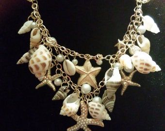 Silver Shells Necklace