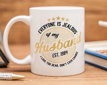 Mug for husband, great gift for your handsome husband