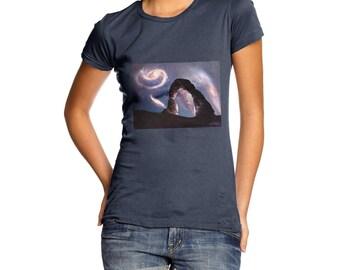 Women's Galaxy Landscape T-Shirt