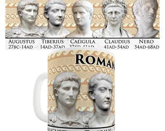 Roman Emperors Ceramic Tea Mug