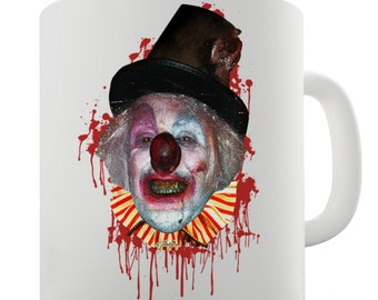 Halloween Satanic Clown Ceramic Mug