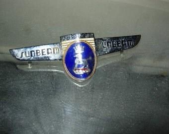 sunbeam supreme car badge