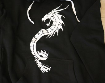 Dragon Print Hoodie
