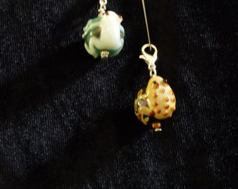Tree Frog Zipper Pulls-Handmade with Love!