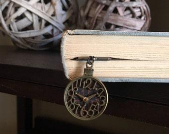 Unique clock Bookmark