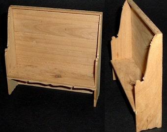 Miniature GUSTAFSON SETTE BENCH