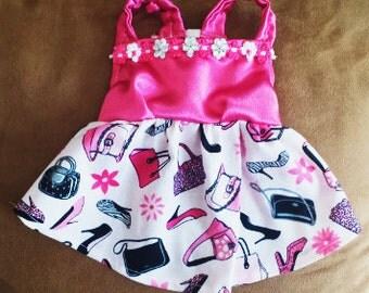 Glamour Pink Dog Dress