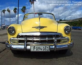 Havana Yellow Car