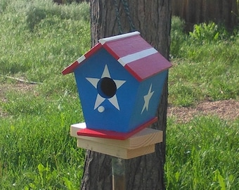 Stars and Strips Birdhouse