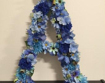 Floral Letter - Monogram - Wedding