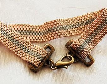 Beaded Stripe Bracelet