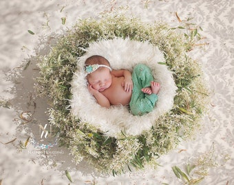 Digital Newborn Background - Woodland background (Dorothy)