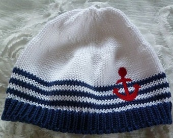 "Baby hat ""Anchor"""