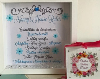 Female word art Personalised Picture frame
