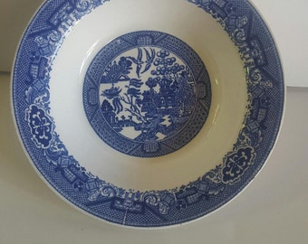 Willow Ware Bowl
