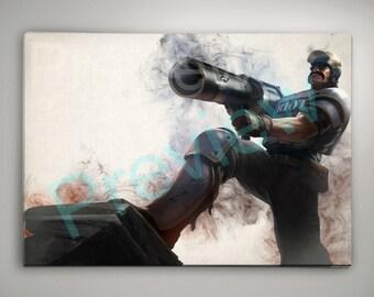 Riot Graves League of Legends Art
