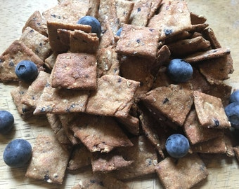 Large: Blueberry Cobbler Dog Treats