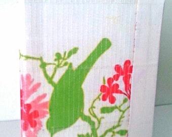 Duct Tape Wallet, Green Song Bird