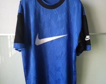 Vintage 90s Big Logo Nike Jersey Swoosh Swag Hip Hop Street wear