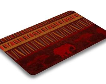African Safari Bath Mat