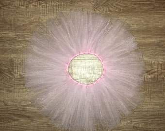 light pink tulle tutu skirt