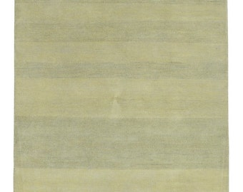 Beige and Yellow Modern Design Small Rug 4X6'1