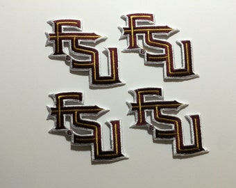 Florida State FSU Seminoles Embroidered Iron on Sew on  Patches *Choose Quantity