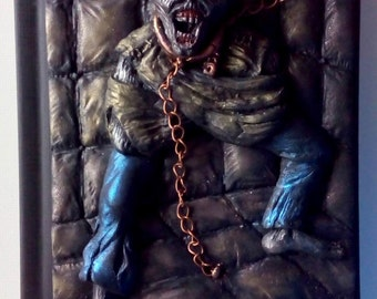 Ed Hunter Piece of Mind, polymer clay journal, notebook, horror, 200 blank pages