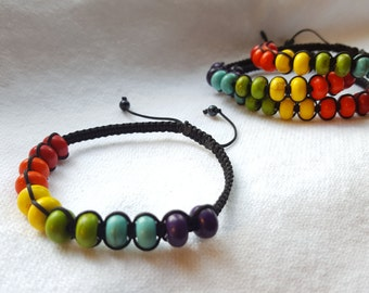 Rainbow 'Come As You Are' Bracelet