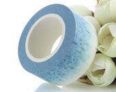 Lovely Violet and Lavender Floral Washi Tape 20mm wide x 10 metres long