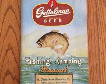 1948 Wisconsin Fishing and Camping Manual