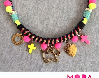 Girly Neon Necklace