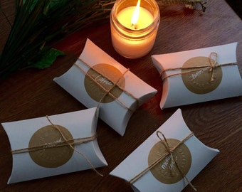 Signature Scent Soy Wax Blend Candle Tealight Sample Pack