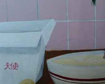 Chinese food painting