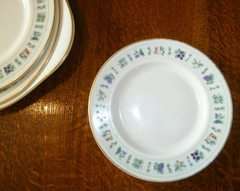 Vintage Royal Doulton Tapestry fine bone china side plates - 14 availiable