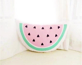 Kids Room Watermelon Toy Pillow