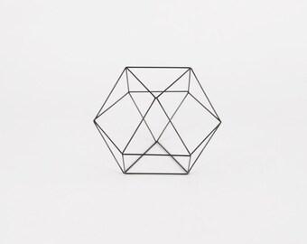 Cuboctahedron - Handmade Wireframe Decor - JY DesignLab