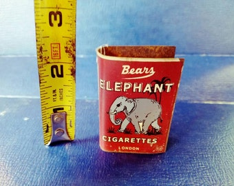 Vintage Bears Elephant Cigarettes