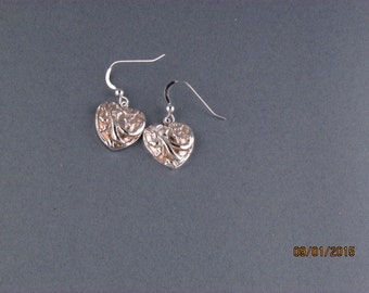 Handmade Silver Dangles Earrings