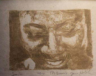 Limited edition, hand pulled etching