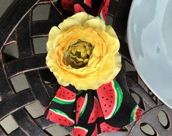 Watermelon Napkin Set