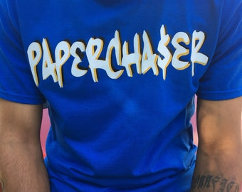 PAPERCHASER tee S - 5XL perfect for Jordan laney's!!
