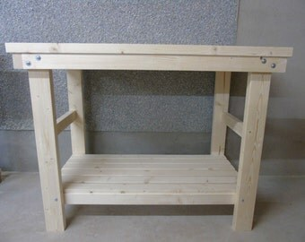 Handmade Wooden Workbench- 3Ft, 4Ft and 5Ft