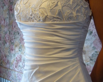 Wedding dress - white color